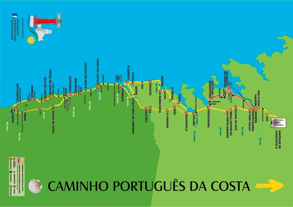 Camino Portugues 2016: von Porto bis Santiago de Compostela
